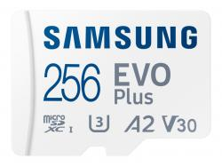 Samsung MicroSDXC 256GB EVO Plus CL10 UHS-I U3 +Adapter MB-MC256KA/EU