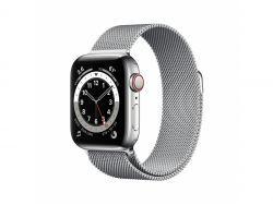 Apple Watch S6 Stainless 40mm Silver Bracelet Milanese  LTE iOS M06U3FD/A