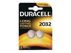 Duracell Batterie Lithium Knopfzelle CR2032 3V Blister (2-Pack) 203921