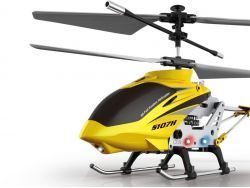 Helicopter SYMA S107H Hover-Funktion 3-Kanal Infrarot mit Gyro (Gelb)