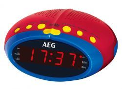 AEG Uhren-Radio MRC 4143 bunt