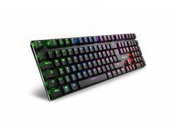 Sharkoon Keyboard PureWriter RGB Red 4044951021451