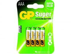 Batterien GP SUPER LR03 Micro AAA (4 St.) 030.24AC4