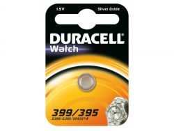 Duracell Batterie Silver Oxide Knopfzelle 399/395 Blister (1-Pack) 068278