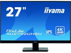 "IIYAMA 68.4cm (27"")  XU2792UHSU-B1 16:9 DVI+HDMI+DP+USB XU2792UHSU-B1"