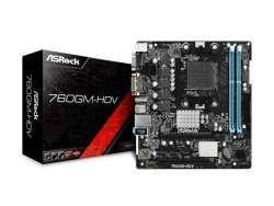 MB ASRock 760GM-HDV AM3+M-ATX D-Sub/DVI/HDMI DDR3 retail 90-MXB7U0-A0UAYZ