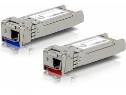UbiQuiti U Fiber Single-Mode - Paar blaue und rote Empfänger UF-SM-10G-S-20