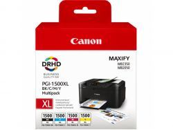 Canon TIN PGI-1500XL BK/C/M/Y MULTIPACK 9182B004