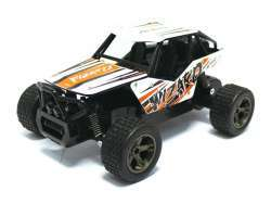 RC Monster Truck KING CHEETAH Wizard 1:18 2.4Ghz (weiß-orange)