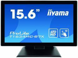 "IIYAMA 39.5cm (15,6"") T1634MC-B7X 16:9 M-Touch HDMI+DP+USB T1634MC-B7X"