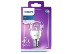 Philips LED Cool White E14 5,5W=40W 520 Lumen (1 St.)