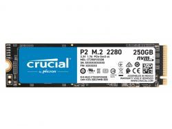 Crucial P2 - 250 GB - M.2 - 2100 MB/s CT250P2SSD8