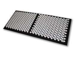 Shanti Acupressure Carpet / Nail mat (120 x 50 cm, Black)