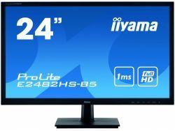 "IIYAMA 61.0cm (24"")16:9 DVI+HDMI+VGA E2482HS-B5"