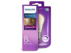 Philips Dimmbare LED E27 4W=15W, 185 Lumen (1 St.)