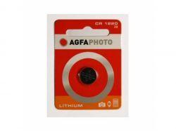AGFAPHOTO Batterie Lithium Knopfzelle CR1220 3V Blister (1-Pack) 150-803463