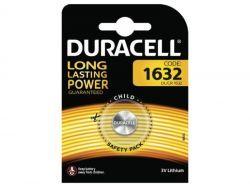 Duracell Batterie Lithium Knopfzelle CR1632 3V Blister (1-Pack) 007420