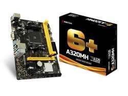 Biostar A320MH Motherboard Buchse AM4 AMD micro ATX A320MH