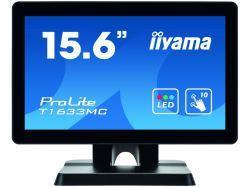 "IIYAMA 39.5cm (15,6"") T1633MC-B1  16:9 M-Touch HDMI+DP+USB T1633MC-B1"