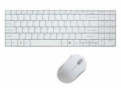 LogiLink Kabellos Tastatur - RF Wireless - Weiß - Maus enthalten ID0109