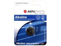 AGFAPHOTO Batterie Alkaline LR44/AG13 1.5V Blister (1-Pack) 150-803470