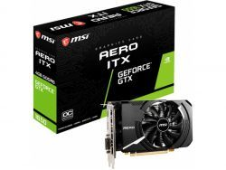 MSI VGA GeForce® GTX 1650 4GB D6 Aero ITX OC V809-3446R
