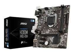 MSI  PRO-VDH Intel H310 LGA 1151 (Socket H4) - Mainboard - mATX 7B29-001R