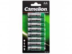 Batterie Camelion Super Heavy Duty Grün LR6 Mignon AA (8 St.)