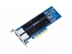 Synology NAS Netzwerkkarte E10G18-T2 10Gbit RJ45 DualPort E10G18-T2