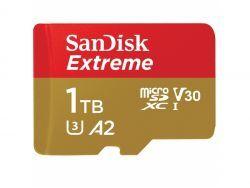 SANDISK MicroSDXC Extreme 1TB R160/W90 Cl.10 U3 V30 A2 SDSQXA1-1T00-GN6MA