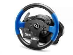 ThrustMaster T150 Force Feedback Lenkrad + Pedale PC - PlayStation 4 - Playstation 3 Schwarz - Blau