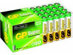 Batterien GP SUPER LR03 Micro AAA (40 St.) 03024AB40