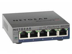 Netgear 5Port Switch 10/100/1000 GS105PE-10000S