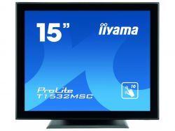 "IIYAMA 38.1cm (15"")  T1532MSC-B5AG 4:3 M-Touch HDMI+DP+USB T1532MSC-B5AG"