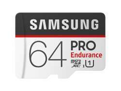 Samsung MicroSD/SDXC Card 64GB PRO Endurance Cl.10 Retail MB-MJ64GA/EU