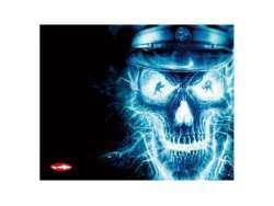 Reekin Tapis de Souris de Jeu 400x320mm (Skull, GAM-002E)
