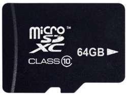 Platinum MicroSDXC 64GB CL10