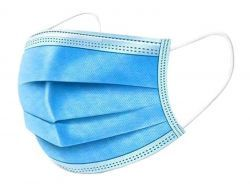 Mouth-nose mask (Disposable Respirator BFE 95% Protective Mask 50pcs pack)