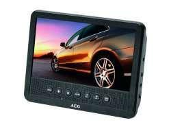 AEG DVD Car Cinema 7 Zoll DVD 4555 Schwarz