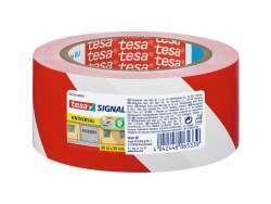 Tesa Markierungsband 50mm/66m (Rot/Weiß)