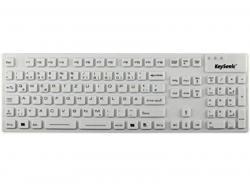 Tas Keysonic KSK-8030IN (DE) Industrietastatur 105T white bulk 28063