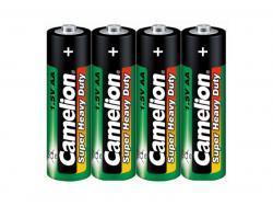 Batterie CAMELION Super Heavy Duty - Grün (4er Shrink)