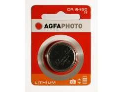 AGFAPHOTO Batterie Lithium Knopfzelle CR2450 3V Blister (1-Pack) 150-803449