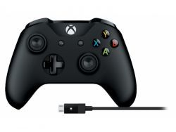 Microsoft Xbox One Controller + Kabel 4N6-00002