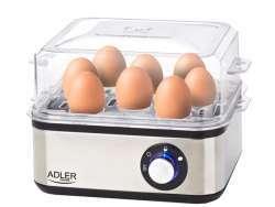 Adler Eierkocher für 1-8 Eier AD 4486