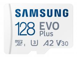 Samsung MicroSDXC 128GB EVO Plus CL10 UHS-I U3 +Adapter MB-MC128KA/EU
