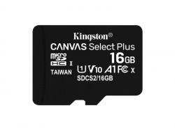 Kingston MicroSDHC 16GB Canvas Select Plus SDCS2/16GB