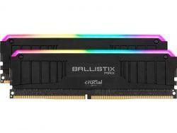 Crucial Ballistix Max RGB 16GB Black DDR4-4000 CL18 Dual BLM2K8G40C18U4BL
