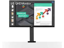 "LG 27"" 27QN880-B DP,HDMI,USB-C,USB black IPS 16:9 27QN880-B"