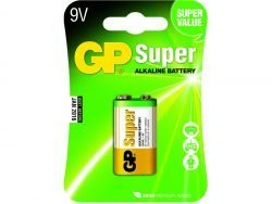 Batterie GP SUPER E-Block 9V  (1 St.) 030.1604AC1